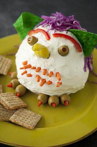Cheese Ball Goblin Recipe