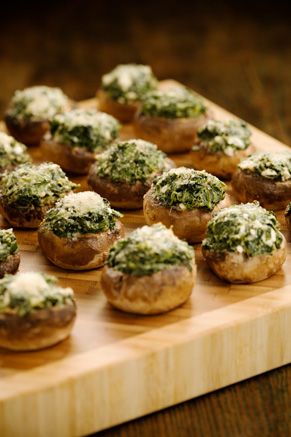 Cheese Stuffed Mushrooms Recipe