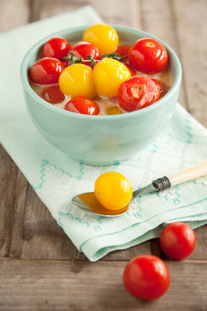 Cherry Tomatoes and Cream Thumbnail