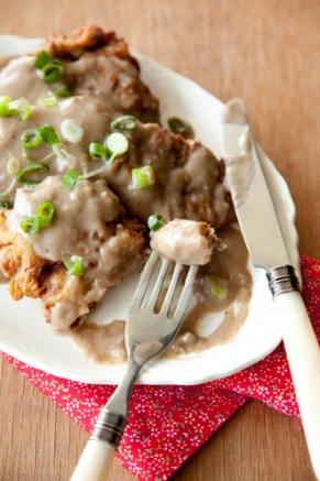 Lighter Chicken Fried Steak Recipe
