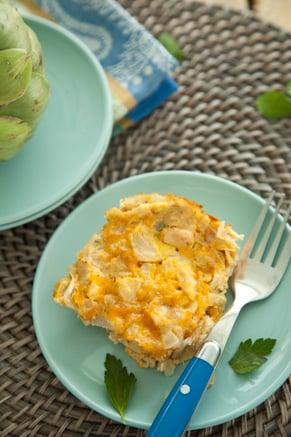 Chicken and Artichoke Frittata Recipe