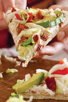Chicken Club Pizza Recipe