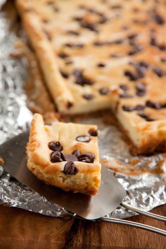 Chocolate Macadamia Cheesecake Bars Recipe