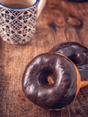 Chocolate-Dippy Doughnuts Recipe