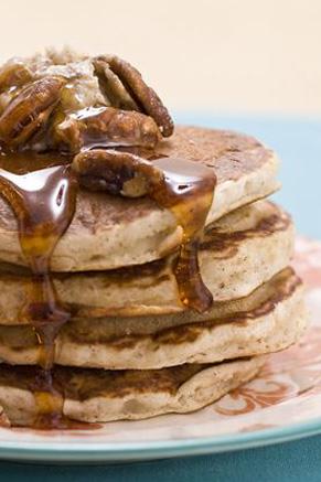 Cinnamon Nut Pancakes Thumbnail