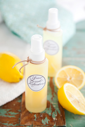 Corrie's Kitchen Spa: Citrus Facial Refresher Recipe