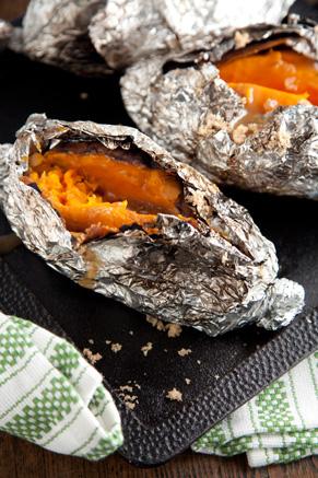 Coal Roasted Sweet Potatoes Thumbnail