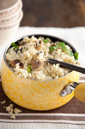 Couscous With Mushrooms Recipe