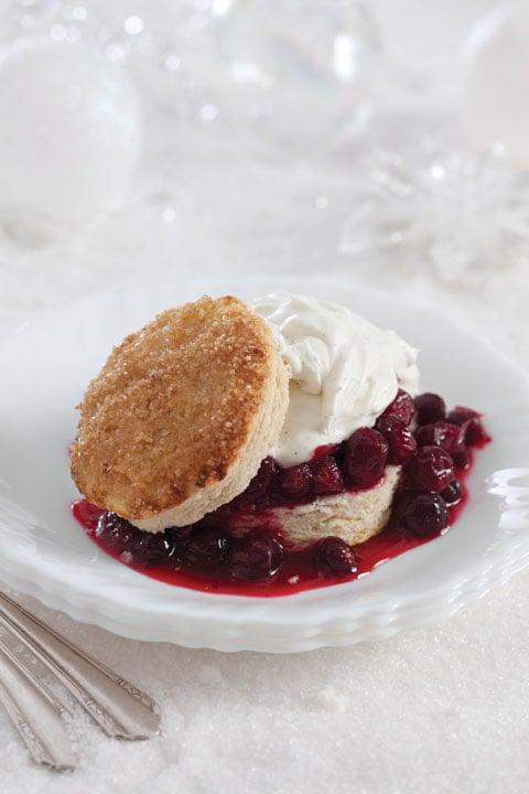 Cranberries 'n Cream Shortcakes Recipe