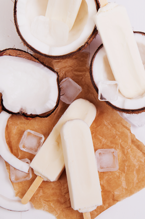 Creamy Coconut Pops Recipe