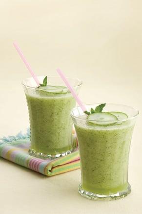 Honeydew-Cucumber Mint Smoothies Thumbnail