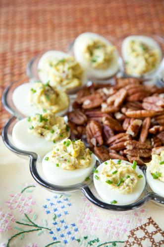 Curry Pecan Deviled Eggs Recipe