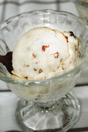 Lighter Butter Pecan Ice Cream Recipe