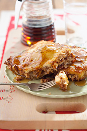 Peanut Butter and Banana Stuffed French Toast Recipe