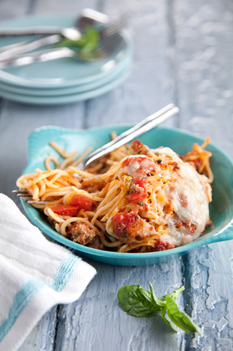 The Lady & Sons Baked Spaghetti Recipe