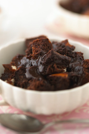Double Fudge Bread Pudding With Chocolate Whipped Topping Thumbnail