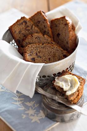 Banana-Date Nut Bread Recipe