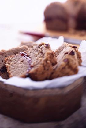 Cherry-Stuffed Pecan Streusel Coffee Cake Recipe