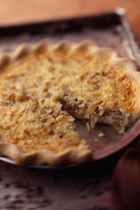 Crab and Artichoke Quiche Recipe