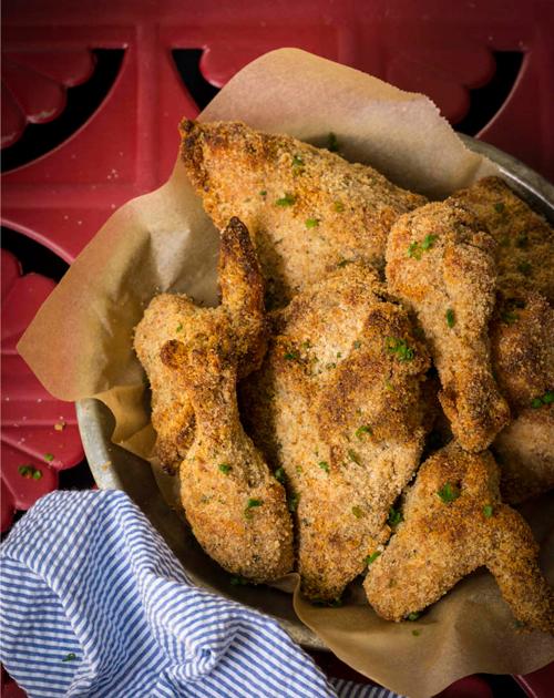 Crispy Oven-Fried Chicken Thumbnail