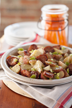 Favorite Sausage-Potato Salad Thumbnail