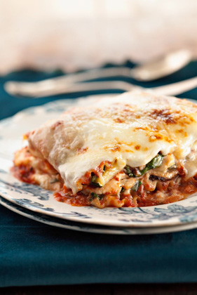 Five-Veggie, Four-Cheese Lasagna Thumbnail