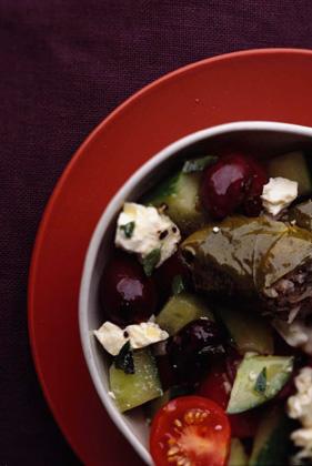 Greek Dolma Salad Recipe