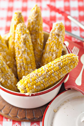 Grilled Parmesan Corn on the Cob Thumbnail