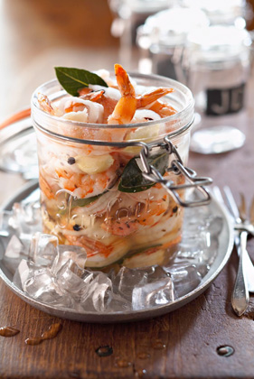 Bobby's Pickled Shrimp in a Jar Recipe