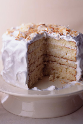 Southern-Style Coconut Cake Recipe