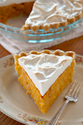 Sweet Potato Meringue Pie Thumbnail