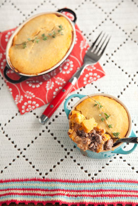The Deen Bros. Lighter Christmas Shepherd's Pie Recipe