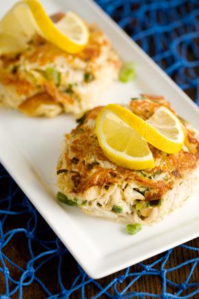 The Deen Bros. Lighter Crab Cakes Recipe