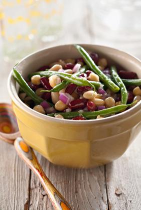 Three + One Bean Salad Thumbnail