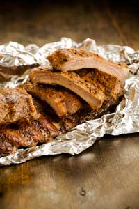 Easy Grilled Baby Back Ribs Recipe