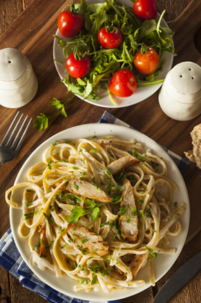Fettuccine Chicken Salad Thumbnail