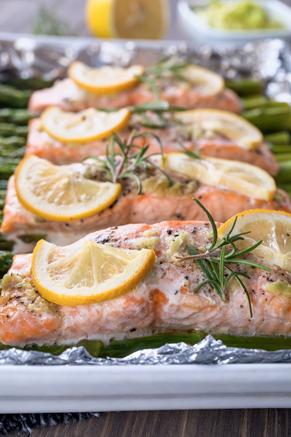 Fired Up Rosemary Salmon Recipe