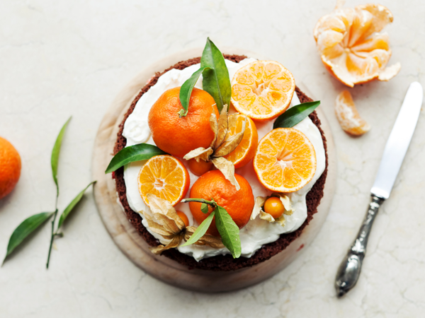 Fresh Tangerine Cake Recipe