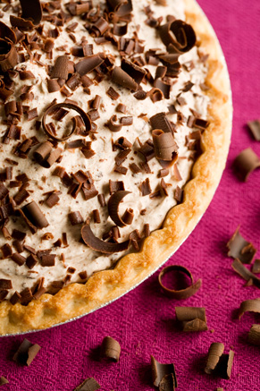 Frozen Chocolate Mousse Pie Recipe