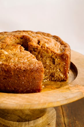 Grandgirl's Fresh Apple Cake from Georgia Recipe