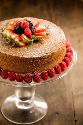 Grandmother Paul's Sour Cream Pound Cake Recipe