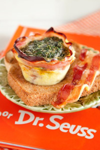 Green Eggs and Ham Cups Recipe