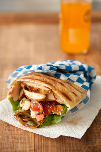 Grilled Chicken Pitas Thumbnail