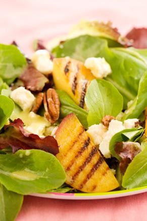 Grilled Peach Salad Recipe