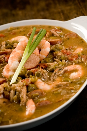 Lighter Gumbo Recipe
