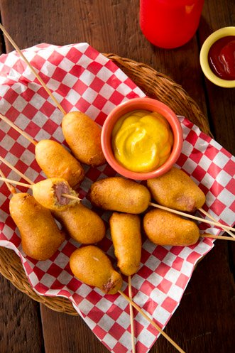 Homemade Mini Corn Dogs Thumbnail