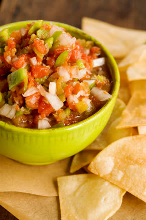 Homemade Salsa on the Fly Thumbnail