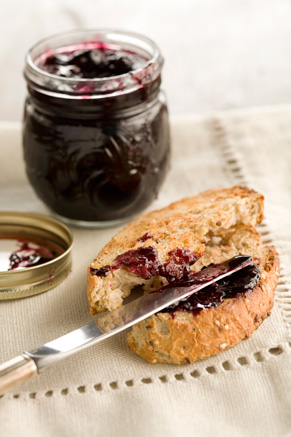 Paula's Homemade Blueberry Lemon Preserves Recipe