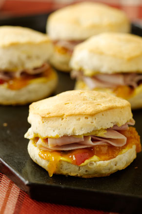 Ham and Chutney Hungry Brothers Biscuits Recipe
