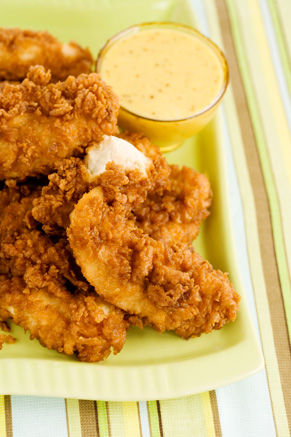 The Lady and Sons Chicken Fingers Recipe